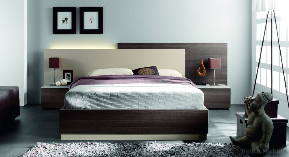 Dormitorios modernos para el hogar for Ver modelos de dormitorios