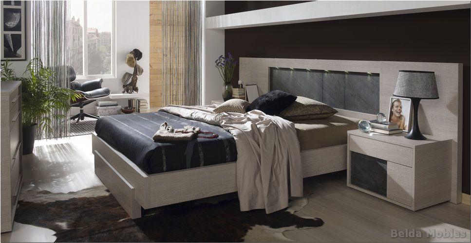 Dormitorio moderno 7 muebles belda for Dormitorio roble moderno