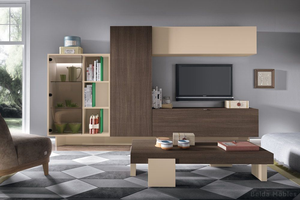 Comedor moderno 3 muebles belda for Modular comedor moderno