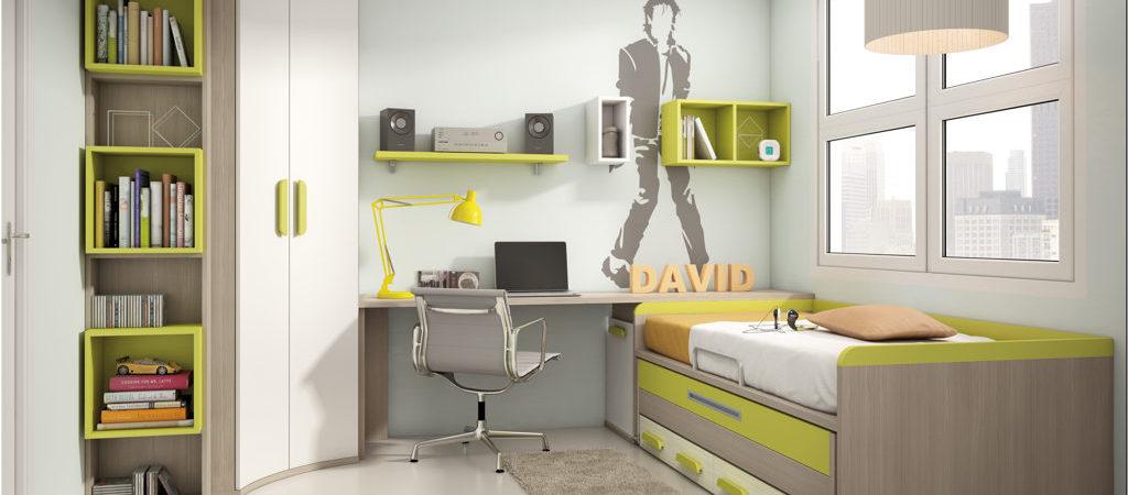 Cama Compacta 5 Muebles Belda