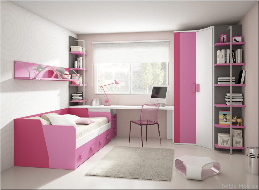 Cama nido 3 muebles belda for Composicion dormitorio juvenil