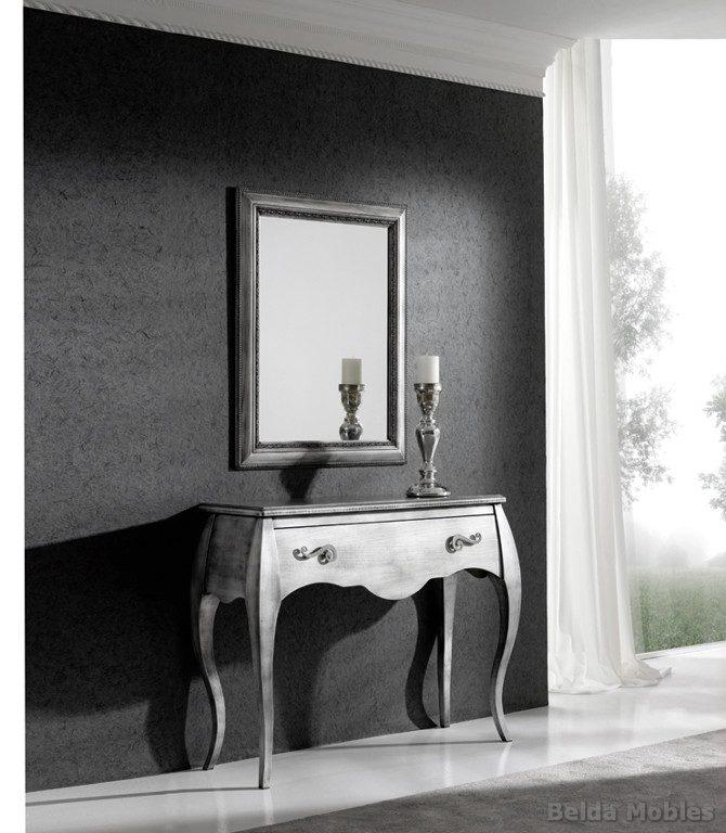 Recibidor 16 muebles belda for Mesas recibidores modernos
