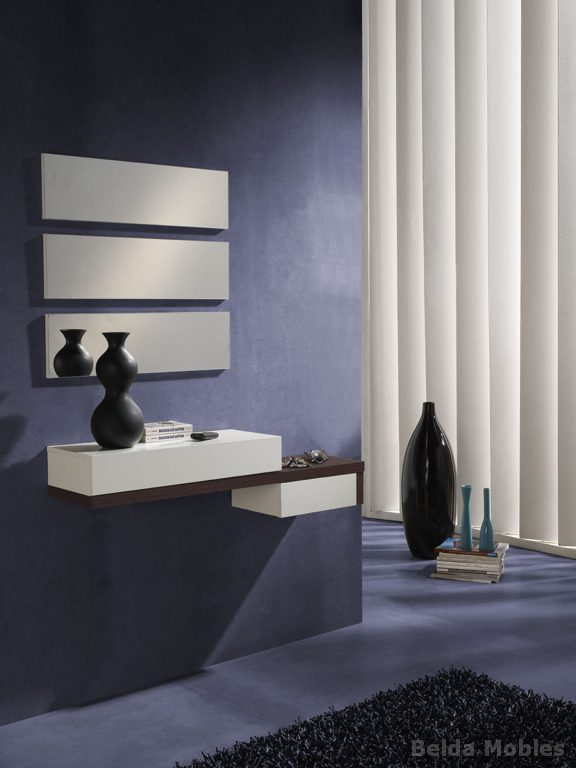 Recibidor 4 muebles belda for Meubles d entree ikea