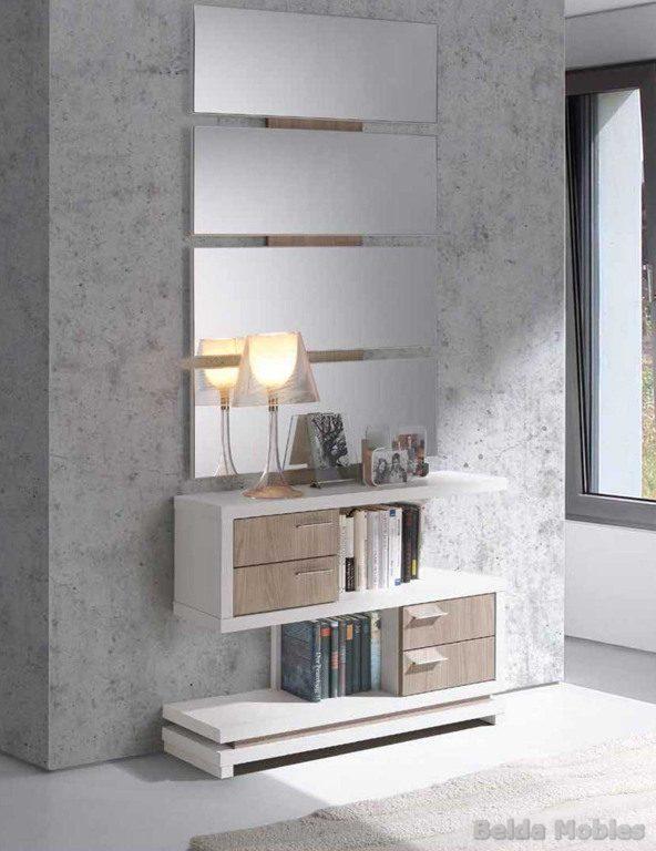 Recibidor 5 muebles belda for Muebles modernos valencia