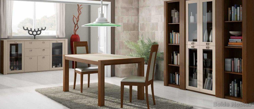 Aparador y vitrina contemporáneo 1 | Muebles Belda