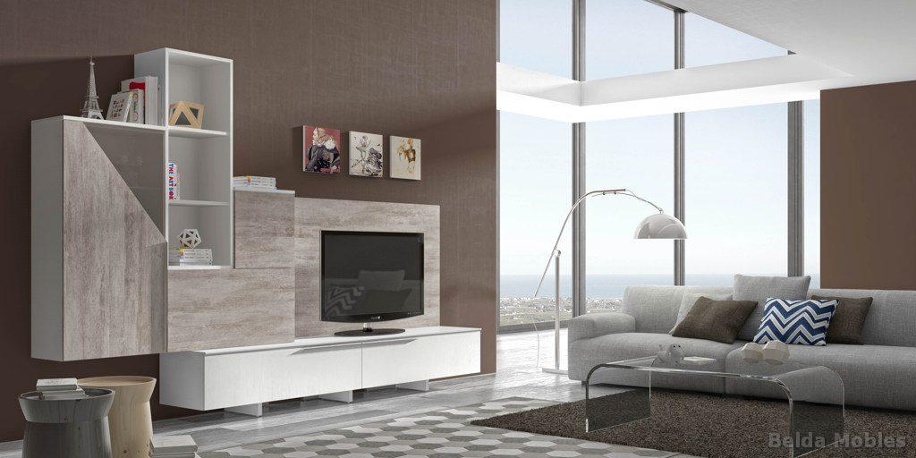 Comedor moderno 13 muebles belda for Escritorios para salon comedor