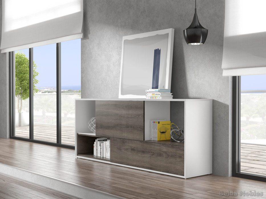 Aparadores modernos y vitrinas modernas - Aparadores salon modernos ...