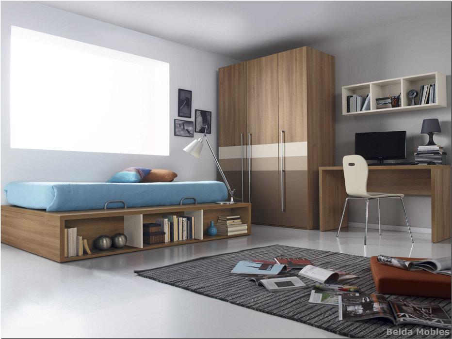 Cama 3 muebles belda for Composicion dormitorio juvenil
