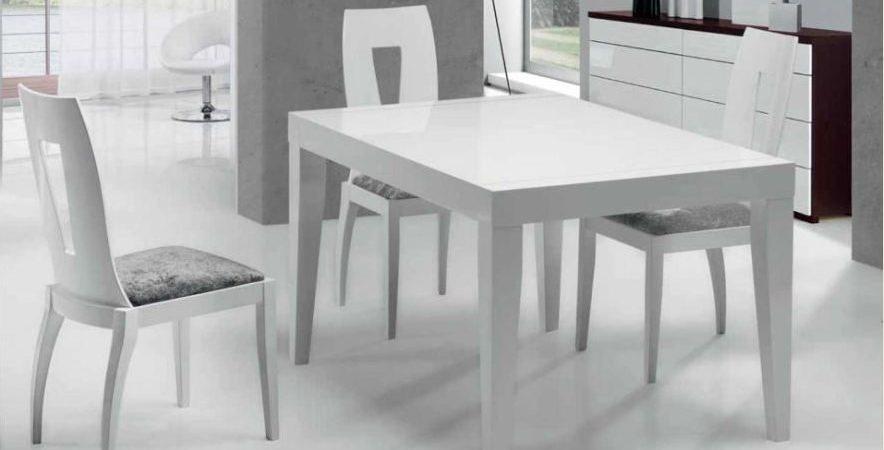 Mesa y sillas modernas 8   Muebles Belda