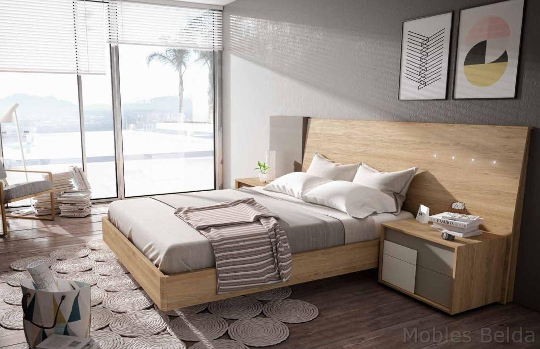 Dormitorio moderno 1 muebles belda - Armarios juveniles merkamueble ...