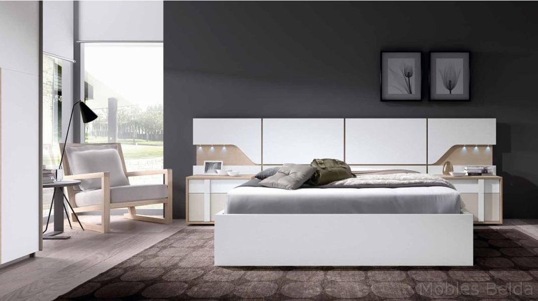 Dormitorio moderno 9 muebles belda for Dormitorio roble moderno