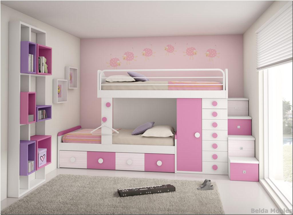 Camas block para tus habitaciones juveniles e infantiles for Camas para habitaciones juveniles
