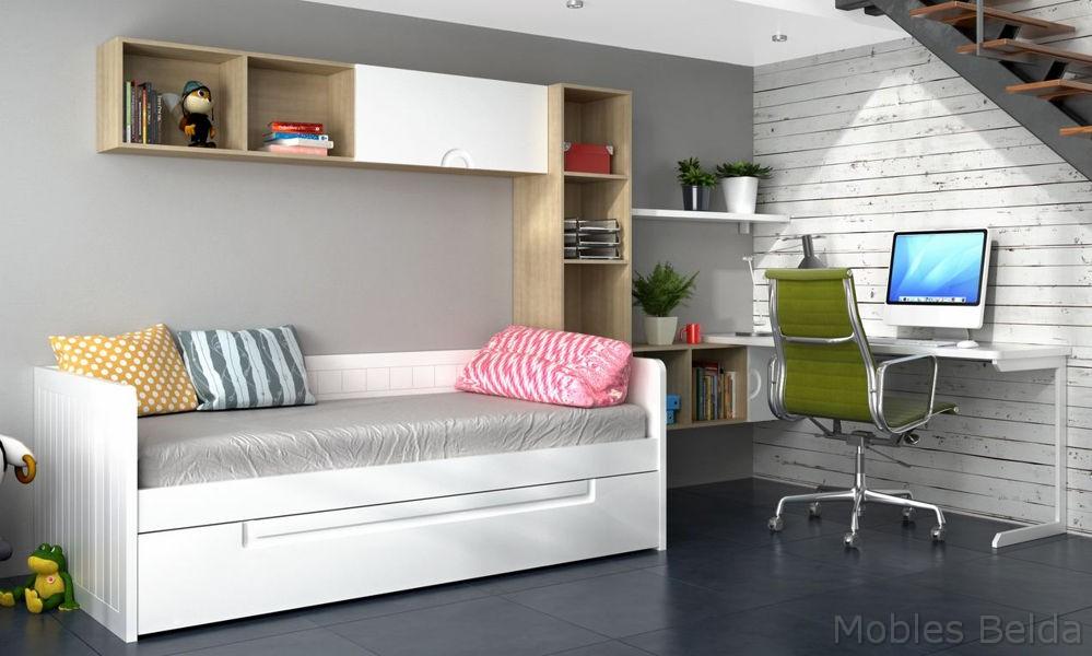 Cama nido 2 muebles belda - Cama nido alta ...