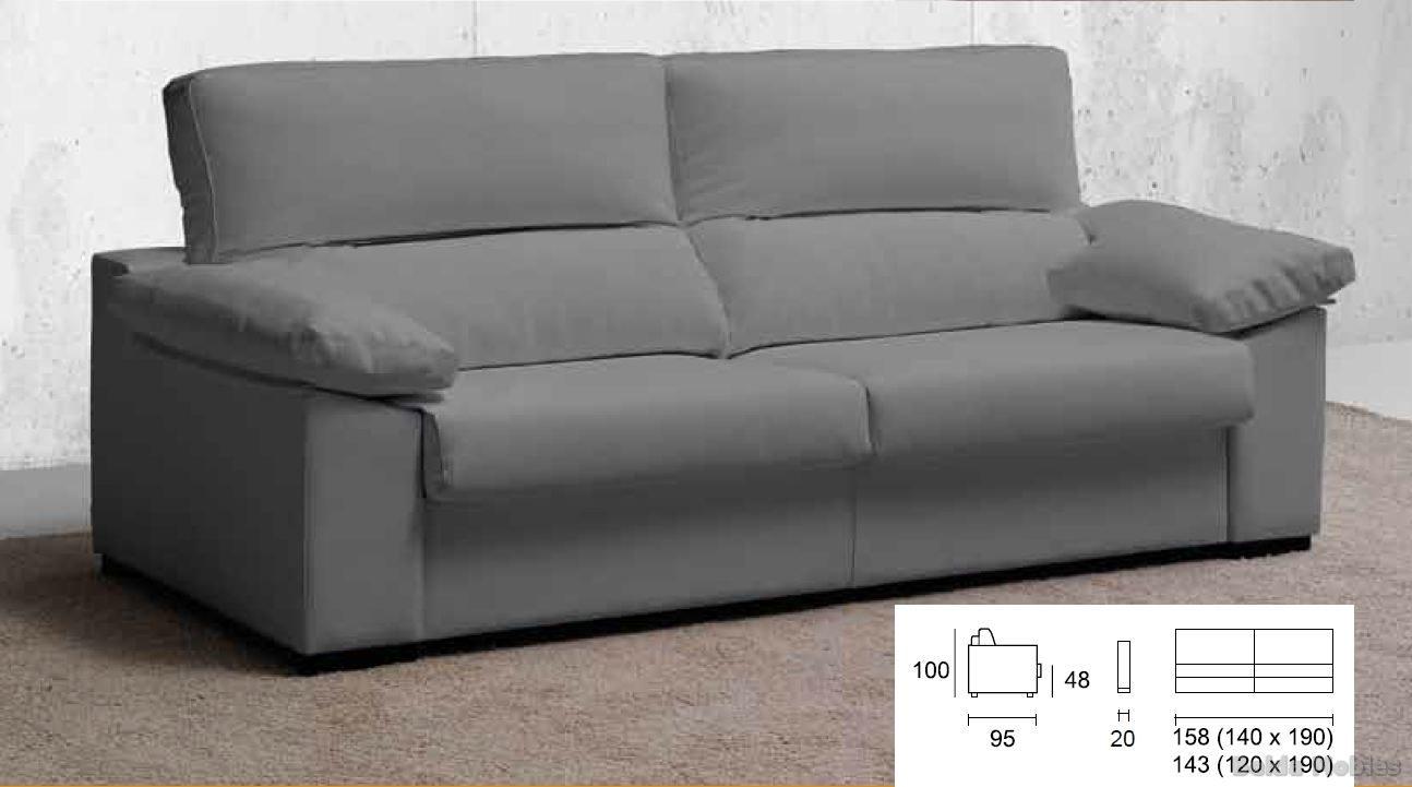 Sof cama 4 muebles belda for Sofa cama valencia