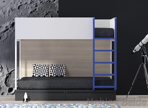 Habitaciones juveniles y mueble juvenil muebles belda for Muebles belda
