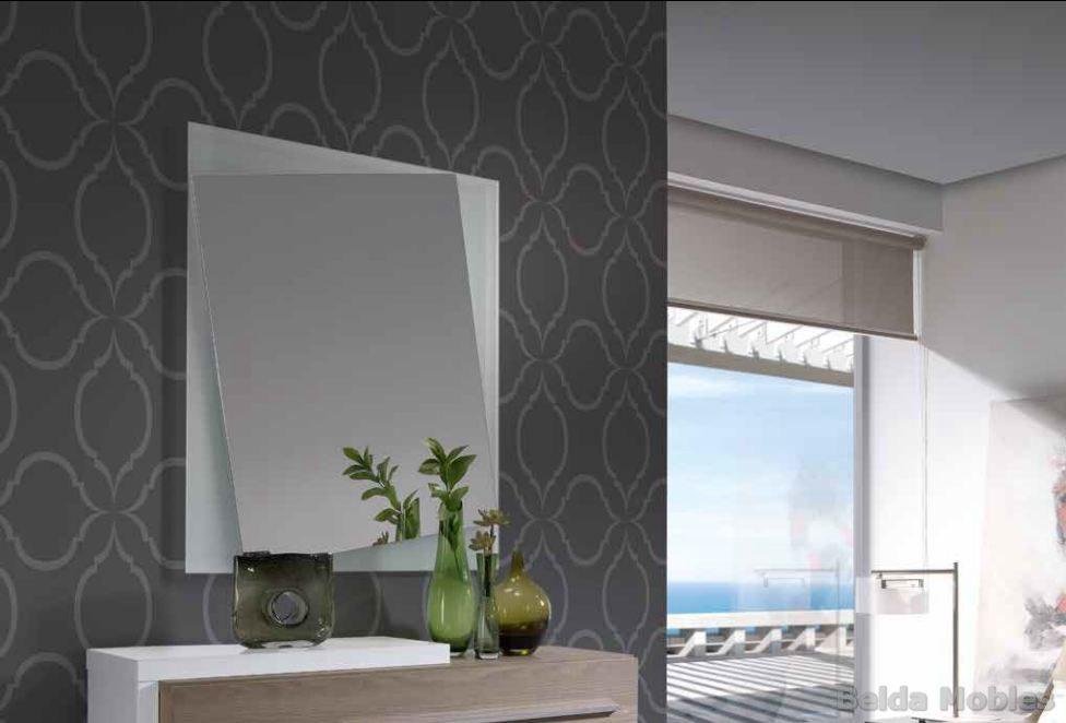 Espejo 5 muebles belda for Marcos para espejos modernos