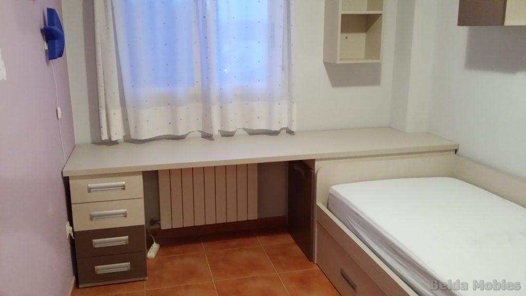 Habitaci n juvenil para pepi muebles belda for Espejos habitacion juvenil