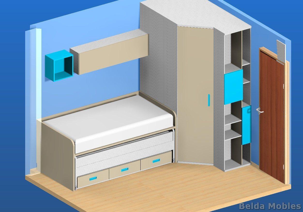 Aprovechamiento y amplitud del espacio muebles belda for Muebles belda