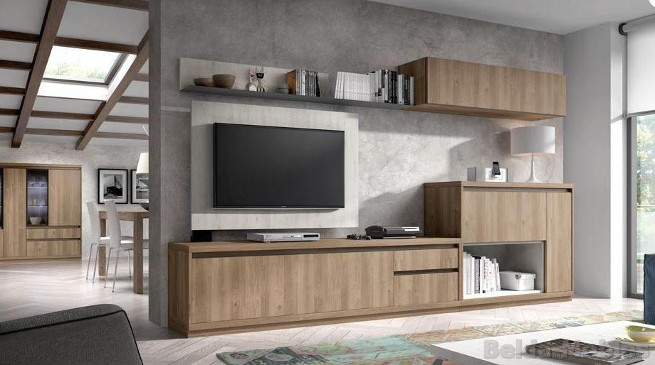 Comedor moderno 21 muebles belda for Zapateros modernos giratorios