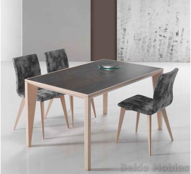 Mesa y sillas modernas 10 | Muebles Belda