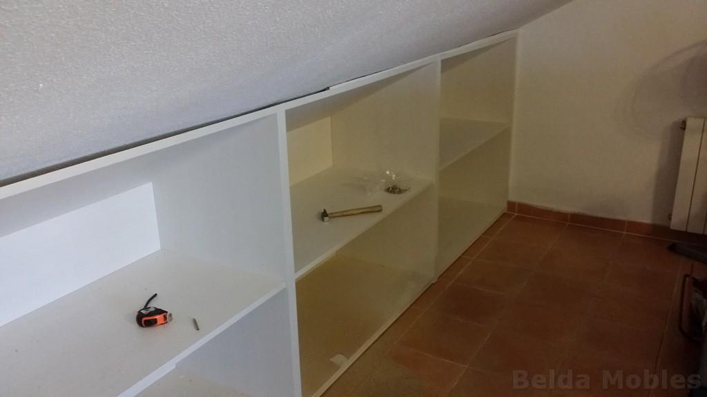Armario Empotrado En La Buhardilla : Armario para buhardilla muebles belda