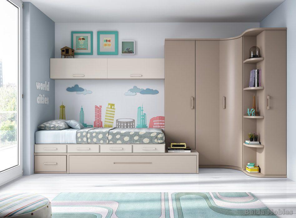 Glicerio chaves hornero es fabricante de muebles - Habitaciones modulares juveniles ...