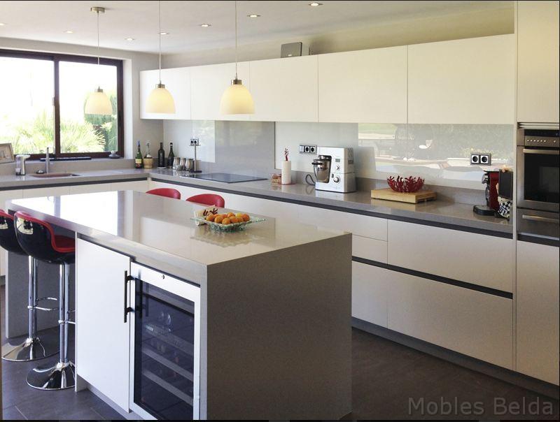 Cocina moderna 4 muebles belda - Cocinas en u modernas ...