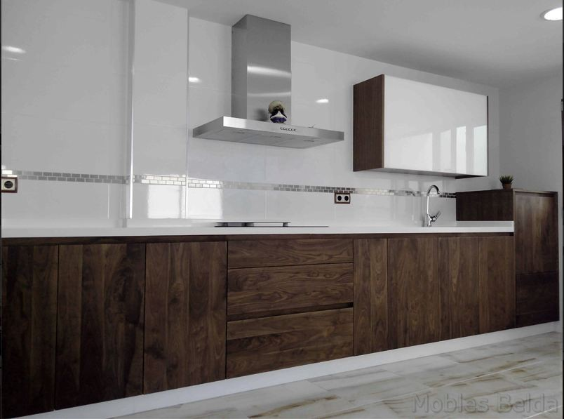 Cocina moderna 5 muebles belda for Cocinas tipo americano modernas