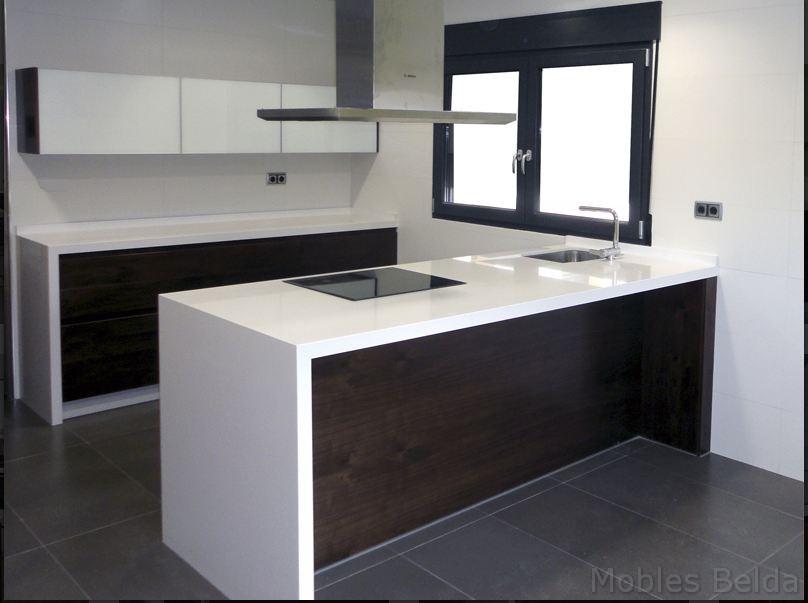Cocina moderna 6 muebles belda - Cocinas amuebladas modernas ...