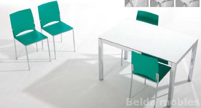 Mesa y sillas cocina 6 muebles belda for Muebles cocina mesas y sillas
