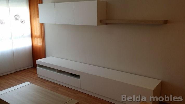 Mueble actual en blanco n rdico muebles belda - Muebles belda ...