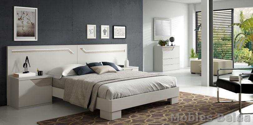 Dormitorio moderno 40 muebles belda - Muebles dormitorio moderno ...