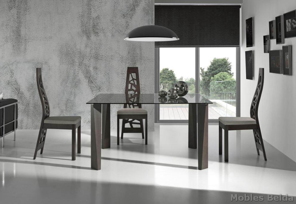 Mesa moderna 38 muebles belda for Muebles belda