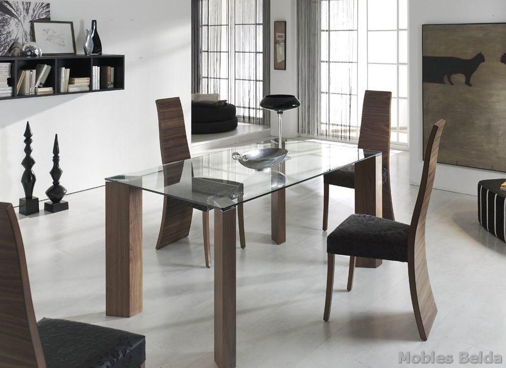 Mesa moderna 37 muebles belda for Muebles belda