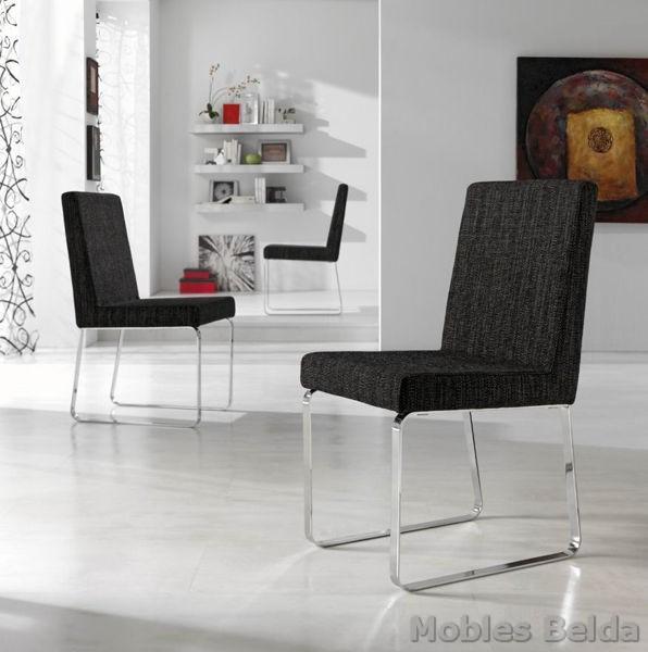 Silla moderna 34 muebles belda for Sillas modernas 2016
