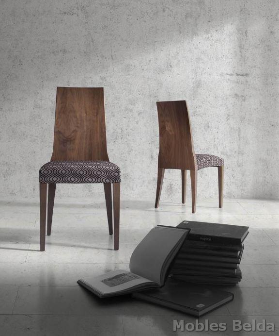 Silla moderna 35 muebles belda for Sillas modernas 2016