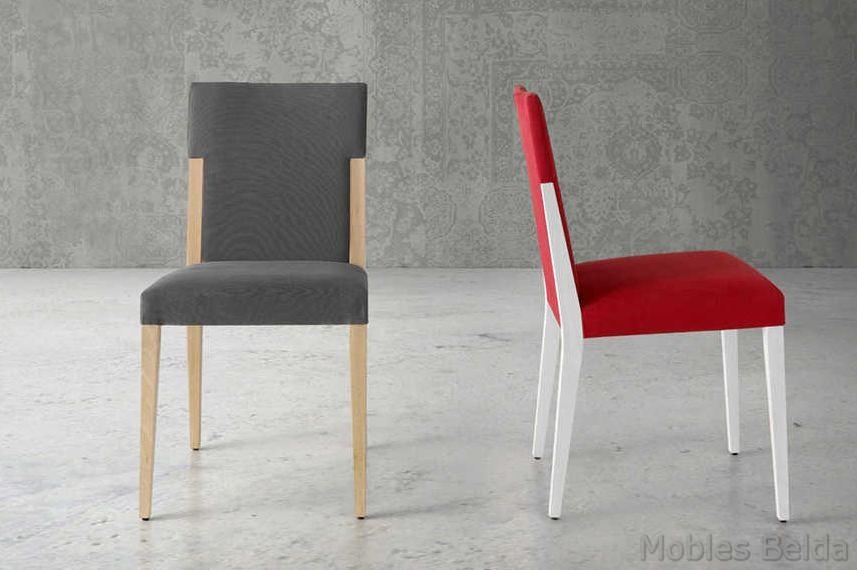 Silla moderna 43 muebles belda for Sillas modernas 2016