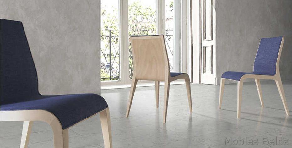 Silla moderna 44 muebles belda for Sillas modernas 2016
