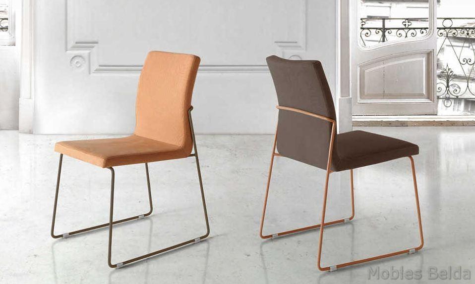 Silla moderna 45 muebles belda for Sillas modernas 2016