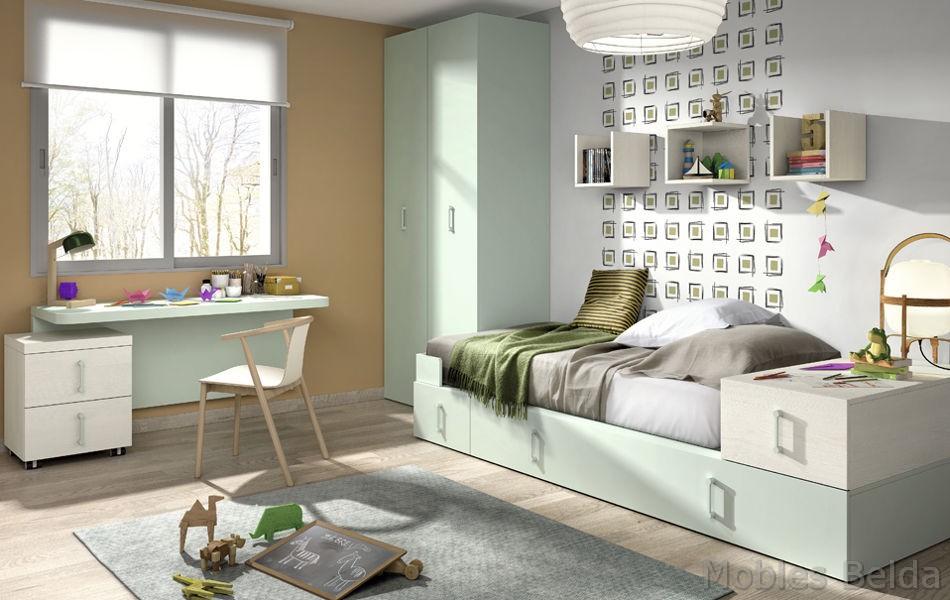 Cama nido 11 muebles belda - Muebles de bano a medida san sebastian de los reyes ...