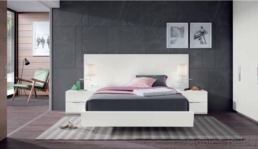 Dormitorio moderno 44 muebles belda for Dormitorio roble moderno